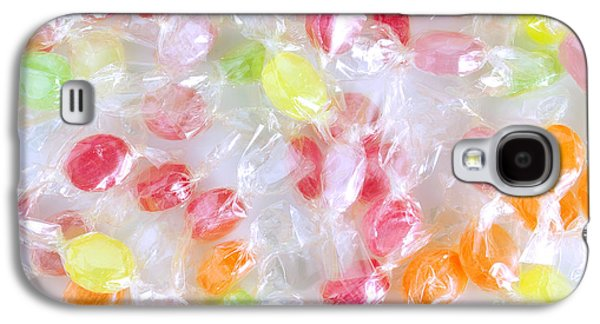 Snack Galaxy S4 Cases - Colorful Candies Galaxy S4 Case by Carlos Caetano