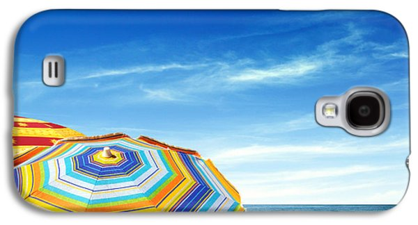 Blue Abstracts Photographs Galaxy S4 Cases - Colorful Sunshades Galaxy S4 Case by Carlos Caetano