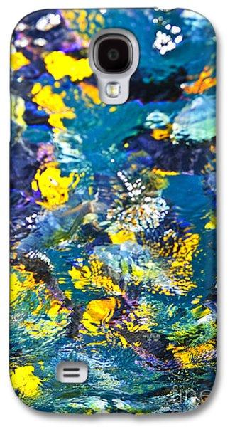 Feeding Galaxy S4 Cases - Colorful tropical fish Galaxy S4 Case by Elena Elisseeva
