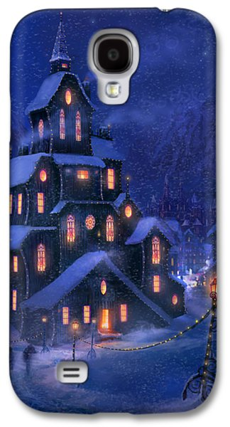 Cold Galaxy S4 Cases - Coming Home Galaxy S4 Case by Philip Straub