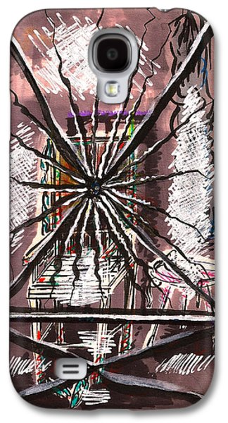 Composition Seven Galaxy S4 Case by Al Goldfarb