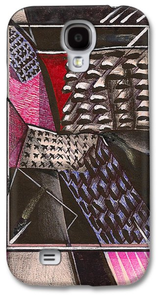 Behind The Scenes Drawings Galaxy S4 Cases - Composition Ten Galaxy S4 Case by Al Goldfarb