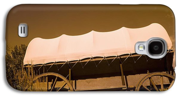Pioneer Scene Galaxy S4 Cases - Conestoga Wagon Galaxy S4 Case by Darren Greenwood