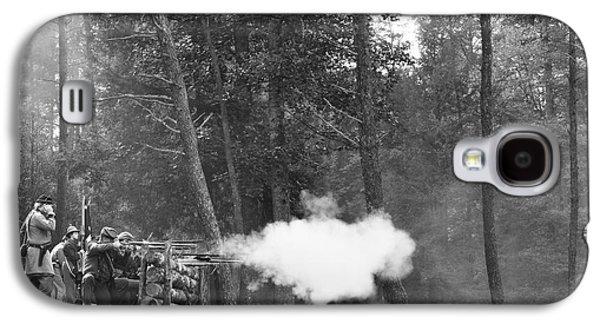 Civil War Site Galaxy S4 Cases - Confederate Breastworks Carnifax Ferry Galaxy S4 Case by Thomas R Fletcher