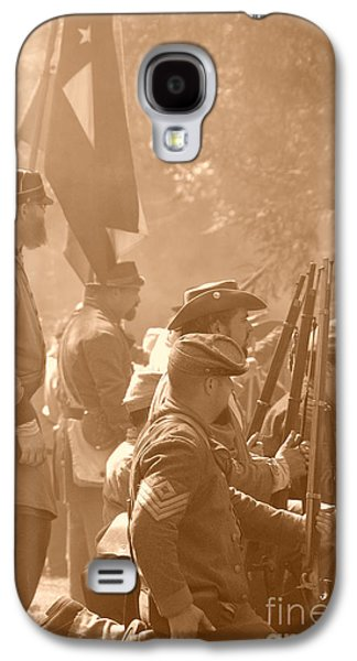 Battlefield Site Galaxy S4 Cases - Confederate Breastworks Carnifex Ferry Galaxy S4 Case by Thomas R Fletcher