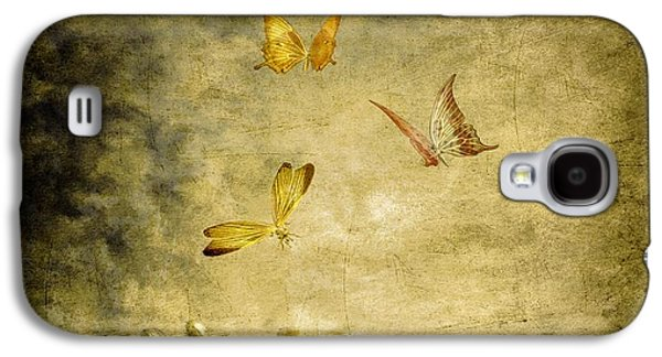 Butterflies Galaxy S4 Cases - Connect Galaxy S4 Case by Photodream Art