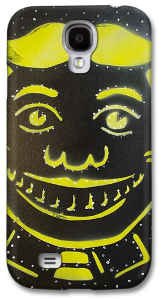 Constellations Paintings Galaxy S4 Cases - Constellation Tillie Galaxy S4 Case by Patricia Arroyo