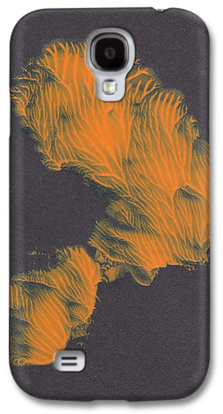 Swiss Mixed Media Galaxy S4 Cases - Coral Head   Galaxy S4 Case by Manuel Sueess