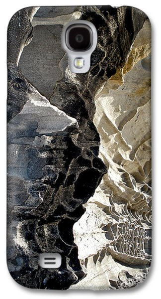 Holes In Sandstone Galaxy S4 Cases - Corrosion by nature Galaxy S4 Case by Kaye Menner