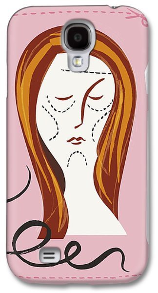 Self-esteem Galaxy S4 Cases - Cosmetic Surgery Galaxy S4 Case by Paul Brown