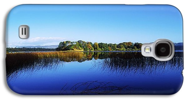 Reflections Of Sky In Water Galaxy S4 Cases - Cottage Island, Lough Gill, Co Sligo Galaxy S4 Case by The Irish Image Collection