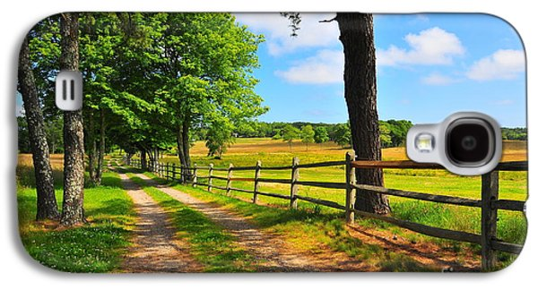 Old Country Roads Photographs Galaxy S4 Cases - Country Road Galaxy S4 Case by Catherine Reusch  Daley