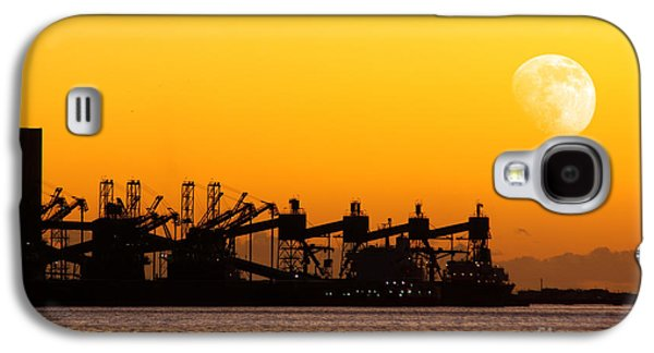 Atmosphere Photographs Galaxy S4 Cases - Cranes at Sunset Galaxy S4 Case by Carlos Caetano
