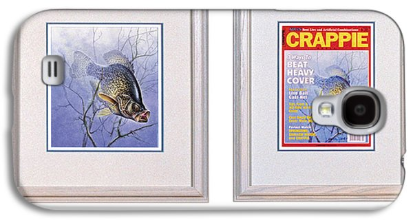 Sportfishing Galaxy S4 Cases - Crappie Magazine and original Galaxy S4 Case by JQ Licensing