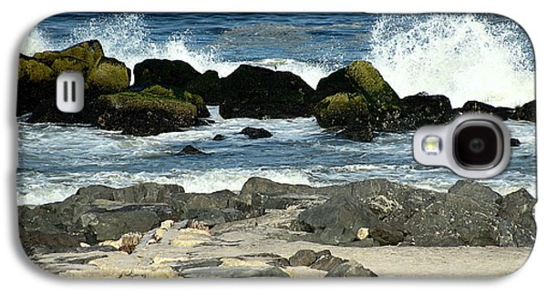 Original Art Photographs Galaxy S4 Cases - Crashing Waves Galaxy S4 Case by Colleen Kammerer
