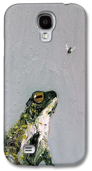 Flying Frog Galaxy S4 Cases - Creation Rocks And Tremble Top And Base Galaxy S4 Case by Fabrizio Cassetta