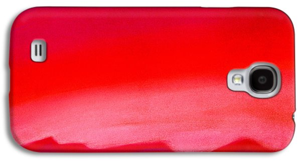 Abstract Landscape Pastels Galaxy S4 Cases - Crimson Night Galaxy S4 Case by Hakon Soreide