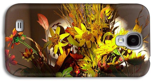 Crocks Galaxy S4 Cases - Crock Pot Full of Flowers Galaxy S4 Case by David Patterson