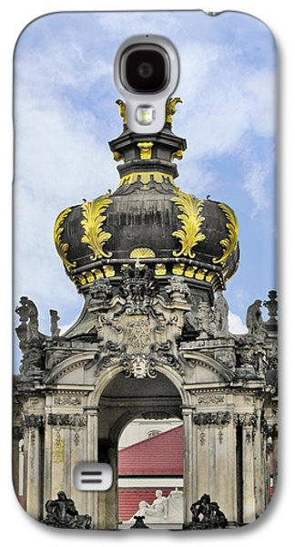 Polish Culture Galaxy S4 Cases - Crown Gate - Kronentor Zwinger Palace Dresden Galaxy S4 Case by Christine Till