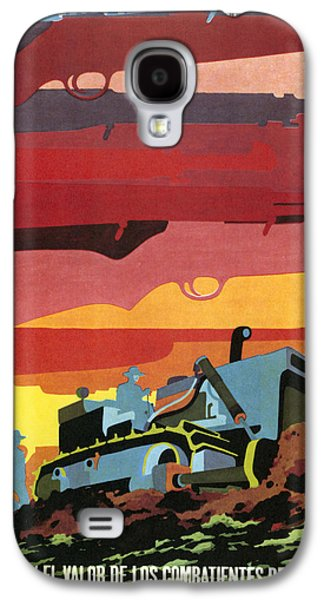 Farmers Field Galaxy S4 Cases - CUBAN POSTER, 1960s Galaxy S4 Case by Granger
