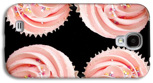 Biting Galaxy S4 Cases - Cup cakes Galaxy S4 Case by Jane Rix