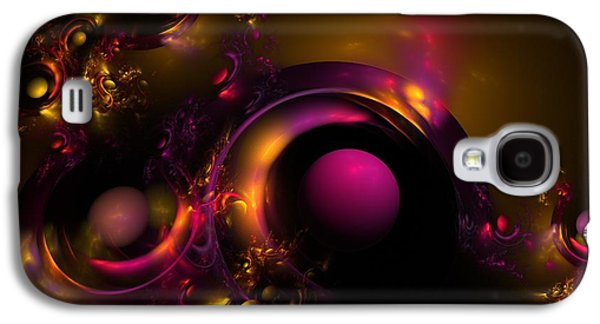 Digital Art Greeting Cards Galaxy S4 Cases - Curvy Baby Galaxy S4 Case by Lyle Hatch