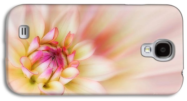 Botany Digital Art Galaxy S4 Cases - Dahlia Galaxy S4 Case by John Edwards