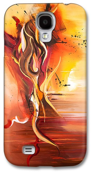 Dance Of Passion Galaxy S4 Case by Michelle Wiarda