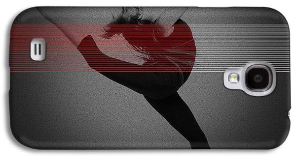 Dancing Girl Galaxy S4 Cases - Dancer Galaxy S4 Case by Naxart Studio