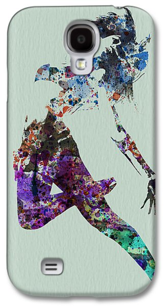 Entertainment Galaxy S4 Cases - Dancer watercolor Galaxy S4 Case by Naxart Studio