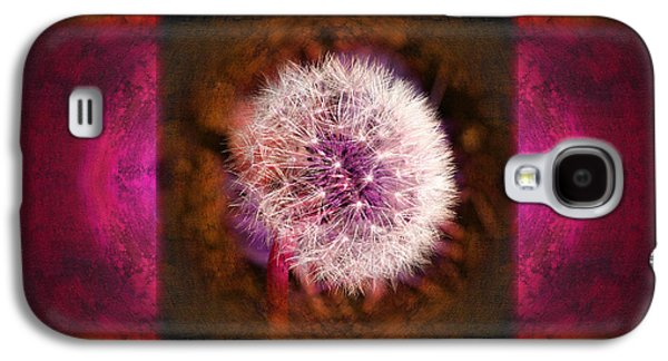 Dandelion In Flame Galaxy S4 Case by Laura Iverson