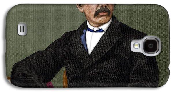 Anti-slavery Galaxy S4 Cases - David Livingstone, Scottish Explorer Galaxy S4 Case by Maria Platt-evans