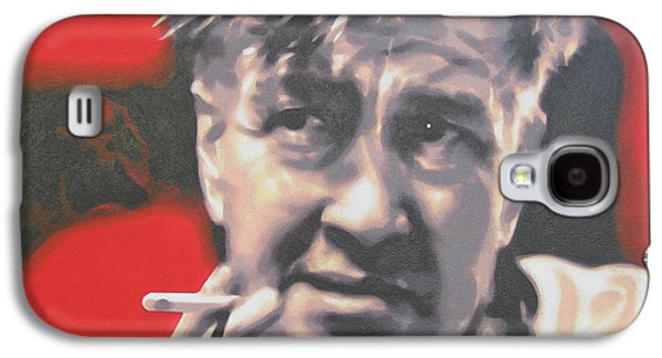 Personality Galaxy S4 Cases - David Lynch Galaxy S4 Case by Luis Ludzska
