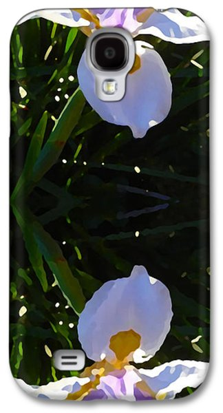 Floral Digital Art Galaxy S4 Cases - Day Lily Reflection Galaxy S4 Case by Amy Vangsgard