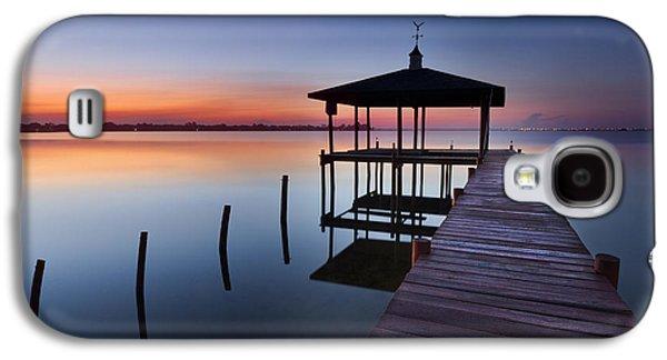 Waterscape Galaxy S4 Cases - Daybreak Galaxy S4 Case by Debra and Dave Vanderlaan