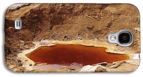 Sink Hole Galaxy S4 Cases - Dead Sea Sinkhole Galaxy S4 Case by Photostock-israel