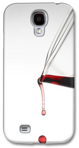 Wine Art Galaxy S4 Cases - Decanter Galaxy S4 Case by Frank Tschakert