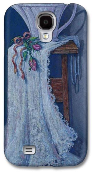 Still Life Pastels Galaxy S4 Cases - Deco Dreams Galaxy S4 Case by Tanja Ware