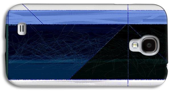 Deep Blue Galaxy S4 Case by Naxart Studio