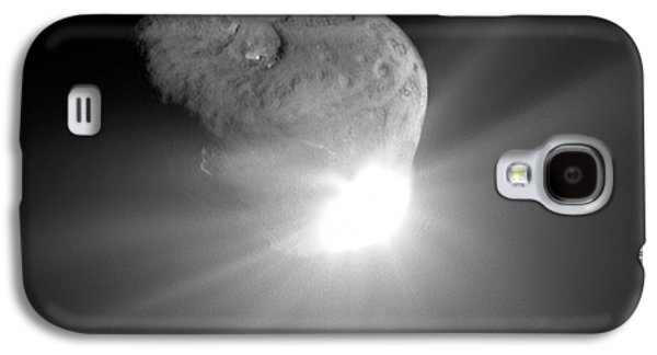 4th July Galaxy S4 Cases - Deep Impact Comet Strike Galaxy S4 Case by Nasa