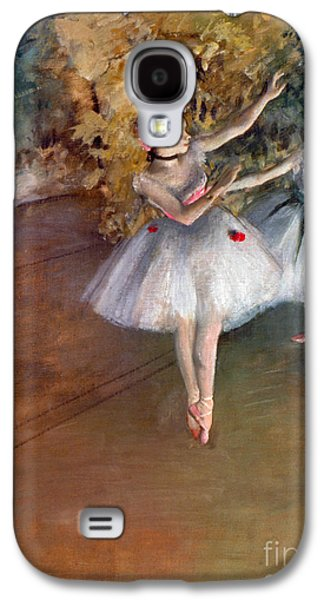 Ballerinas Galaxy S4 Cases - DEGAS: DANCERS, c1877 Galaxy S4 Case by Granger