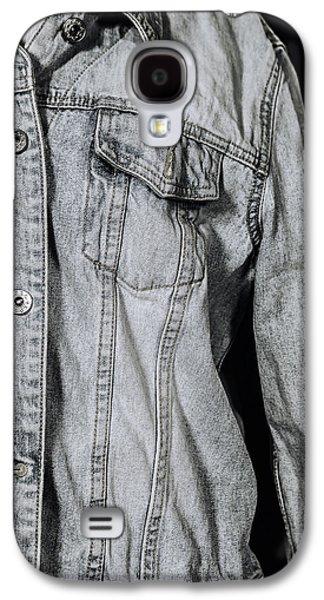 Jeans Galaxy S4 Cases - Denim Jacket Galaxy S4 Case by Joana Kruse