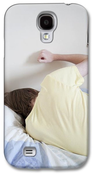 Psychiatry Galaxy S4 Cases - Depressed Youth Galaxy S4 Case by