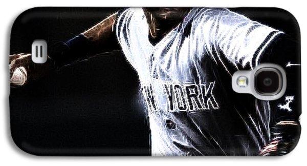 All-star Galaxy S4 Cases - Derek Jeter Galaxy S4 Case by Paul Ward