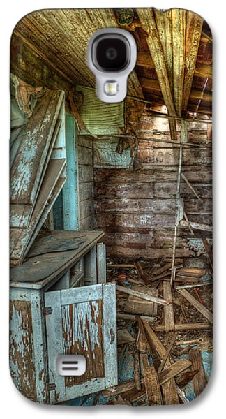 Mess Photographs Galaxy S4 Cases - Derelict House Galaxy S4 Case by Thomas Zimmerman