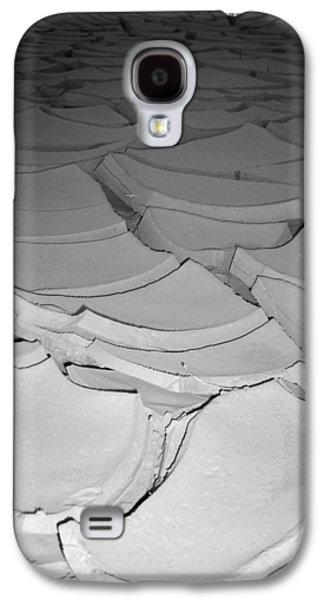 Dry Lake Galaxy S4 Cases - Desert Lake Galaxy S4 Case by Naxart Studio