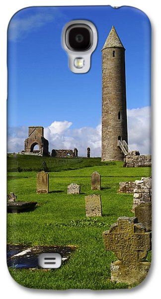 Monasticism Galaxy S4 Cases - Devenish Monastic Site, Co. Fermanagh Galaxy S4 Case by The Irish Image Collection