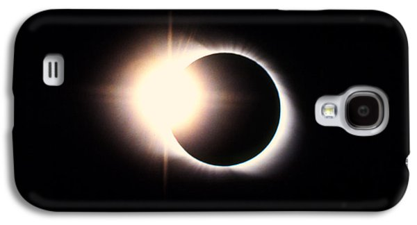 Solar Eclipse Galaxy S4 Cases - Diamond Ring Effect, Total Solar Eclipse Galaxy S4 Case by Rev. Ronald Royer