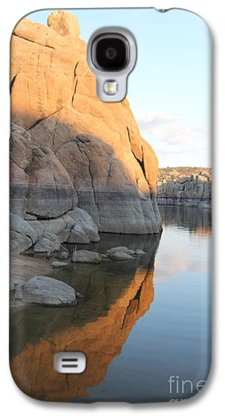 Watson Lake Galaxy S4 Cases - Diane Greco-Lesser Galaxy S4 Case by Diane  Greco-Lesser