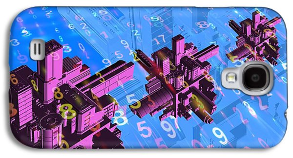 Component Photographs Galaxy S4 Cases - Digital Communication, Conceptual Image Galaxy S4 Case by Victor Habbick Visions